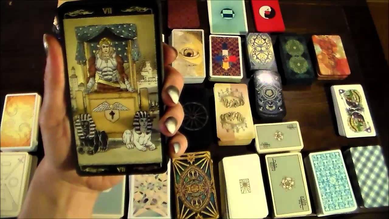 My tarot collection 80 decks part 2 deck tarot