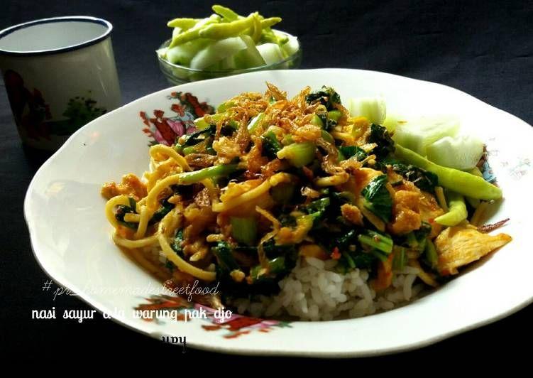 Resep Nasi Sayur A La Warung Pak Djo Surabaya Pr Homemadestreetfood Oleh Izza Han Resep Resep Sayuran Makanan
