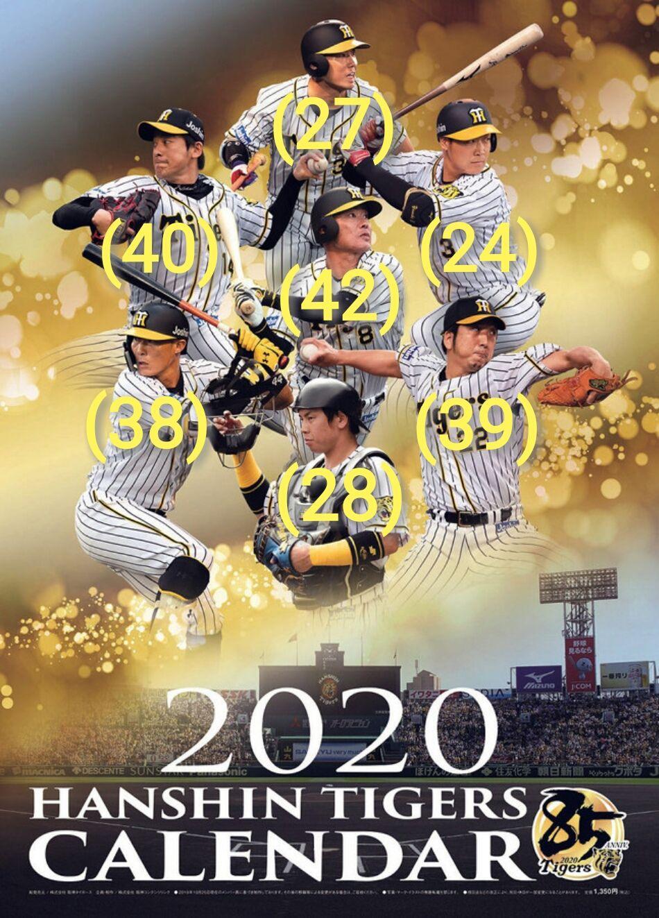 阪神タイガース 外国人 2020