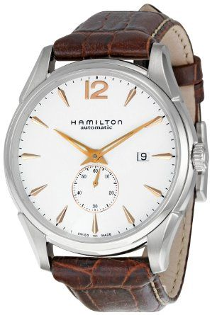 62fde978a HAMILTON - Men's Watches - JAZZMASTER SLIM PETITE SECONDE - Ref. H38655515:  Amazon.co.uk: Watches