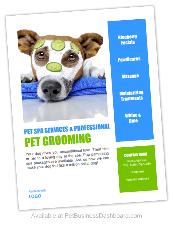 Pet Grooming Flyers Or Posters Template Httpwww