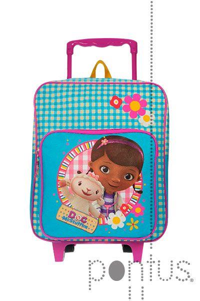 Mochila Dra. Brinquedos c/trolley 35x28x12cm | JB