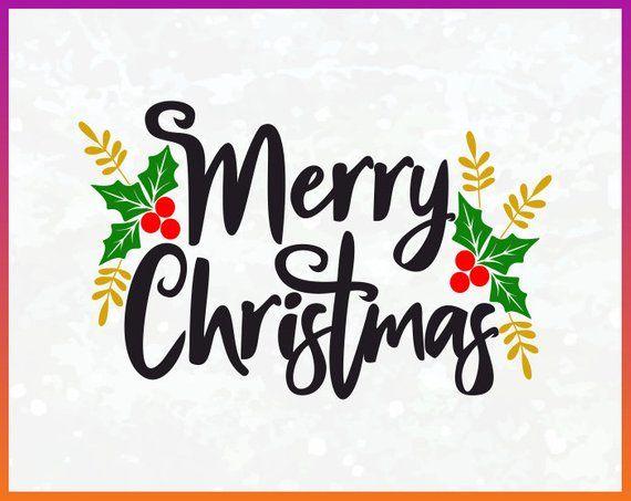 Пин на доске merry christmas svg