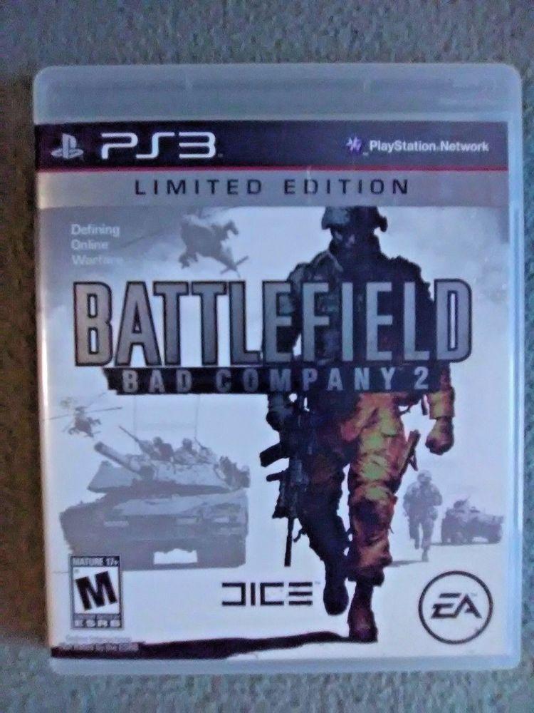 Battlefield Bad Company 2 Sony Playstation 3 Ps 3 2010