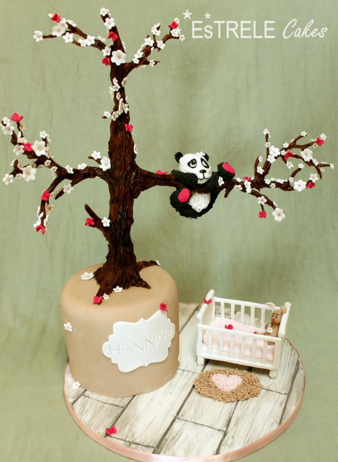 Baby Panda cake