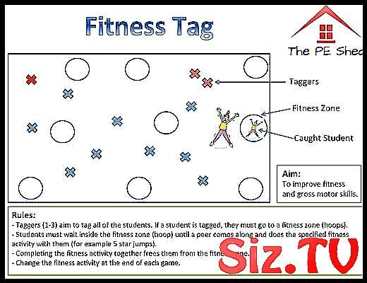Fitness Tag PE Game Fitness Tag PE Game #elementary_education_lesson_plans_games_for_kids #Fitness #...