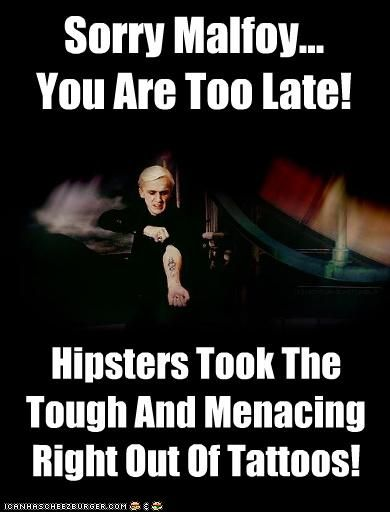 Sorry Malfoy... You Are Too Late!