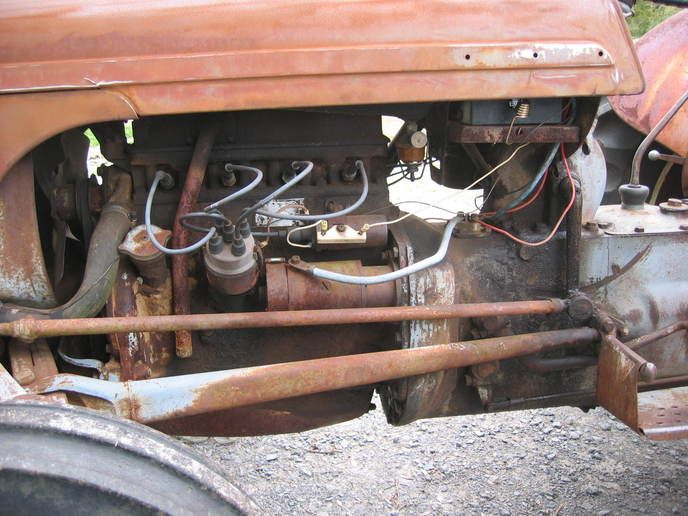 8n ford tractor wiring diagram 12 volt 3 circle venn solver conversion kit for ferguso... - yesterday's tractors | pinterest