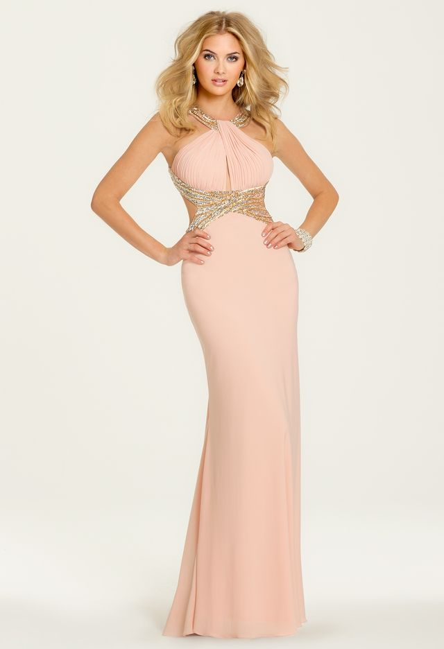 Sequined Criss Cross Waist Dress From Camille La Vie And Group Usa