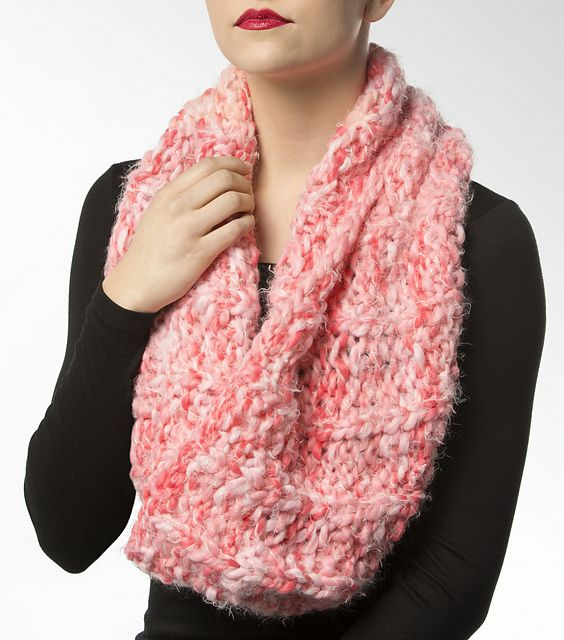 Ravelry Central Park Knit Snood Pattern By Isaac Mizrahi Craft