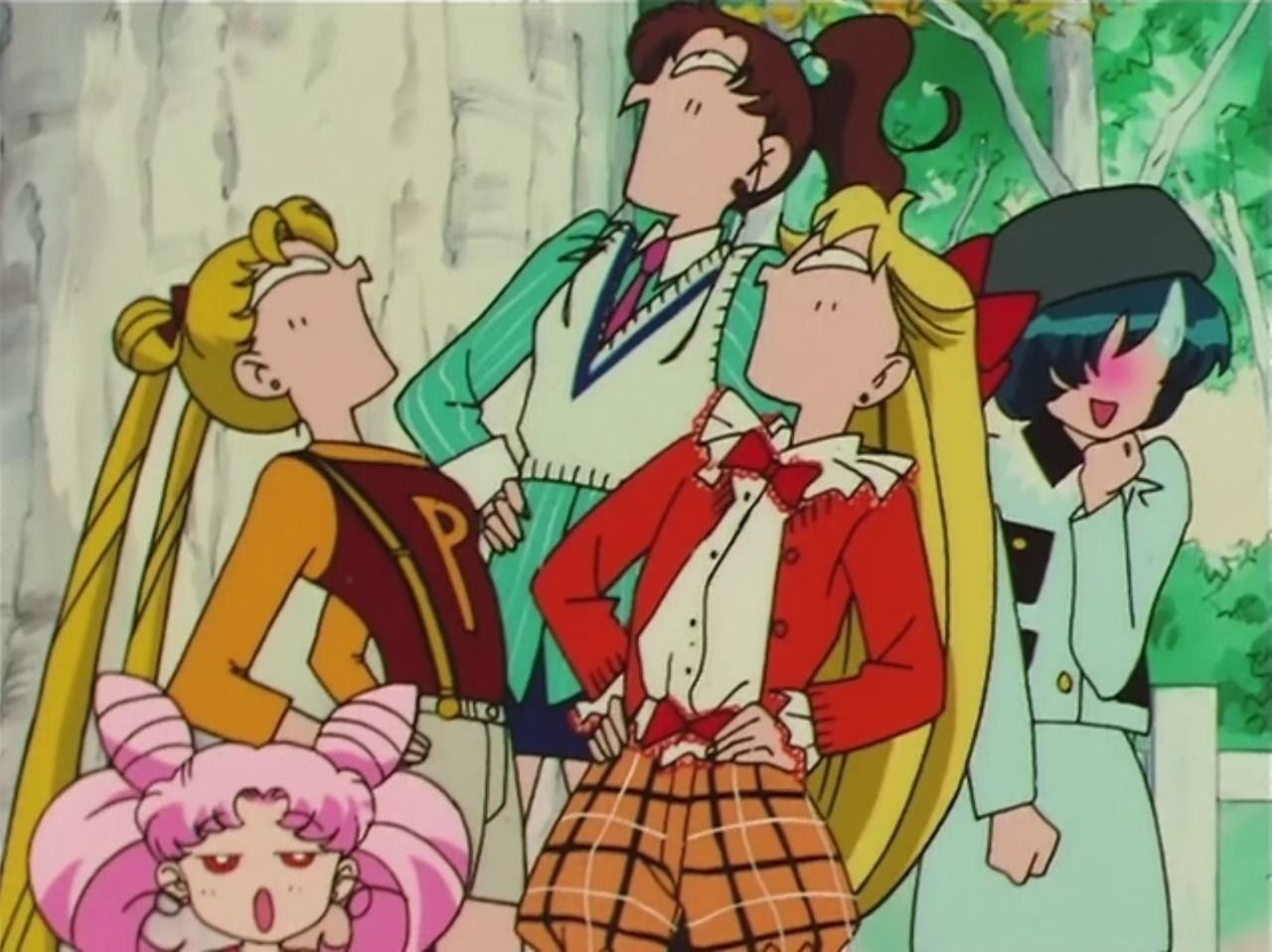Okay this is totally me and my two best friends when we make a draw the squad sailor moon edition ccuart Image collections