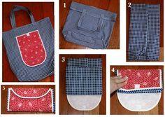 Bolsa De Tela Para Comprar Nueva Vida Pinterest Sewing