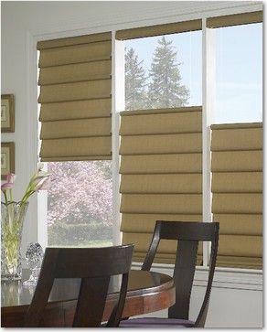 Hunter Douglas Window Fashions Traditional Roman Blinds Window Styles Hunter Douglas Blinds