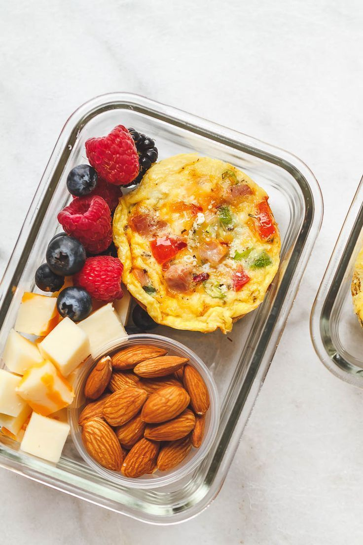 Easy Keto Meal Prep Breakfast  Packed with protein and so convenient for busy m