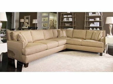 Drexel Heritage Furniture Upholstery Breland Sectional D928 Sect