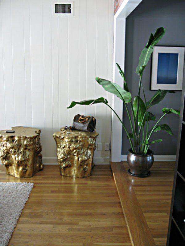 50 couchtische aus baumstamm gestaltet einrichten pinterest. Black Bedroom Furniture Sets. Home Design Ideas