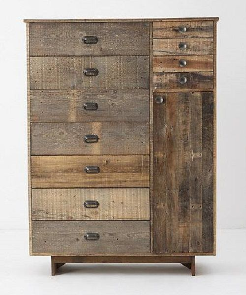 C moda hecha con pallets commode made out of pallets - Reciclaje de pales ...
