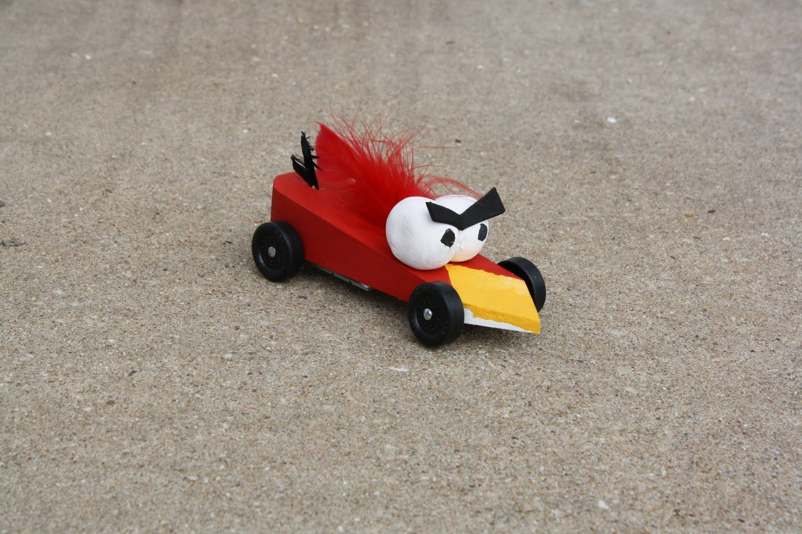 Winning Pinewood Derby Car Designs | Pinewood Derby: Angry Birds ...