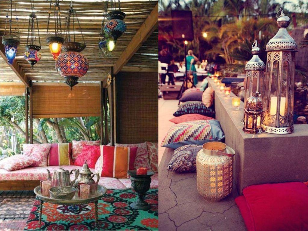 Decoraci n de terrazas modernas con l mparas terrazas - Decoracion de patios y terrazas ...