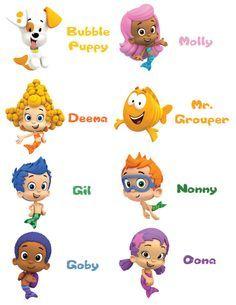 Free Bubble Guppies Birthday Printables Google Search Bubble Guppies Birthday Bubble Guppies Birthday Party Bubble Guppies
