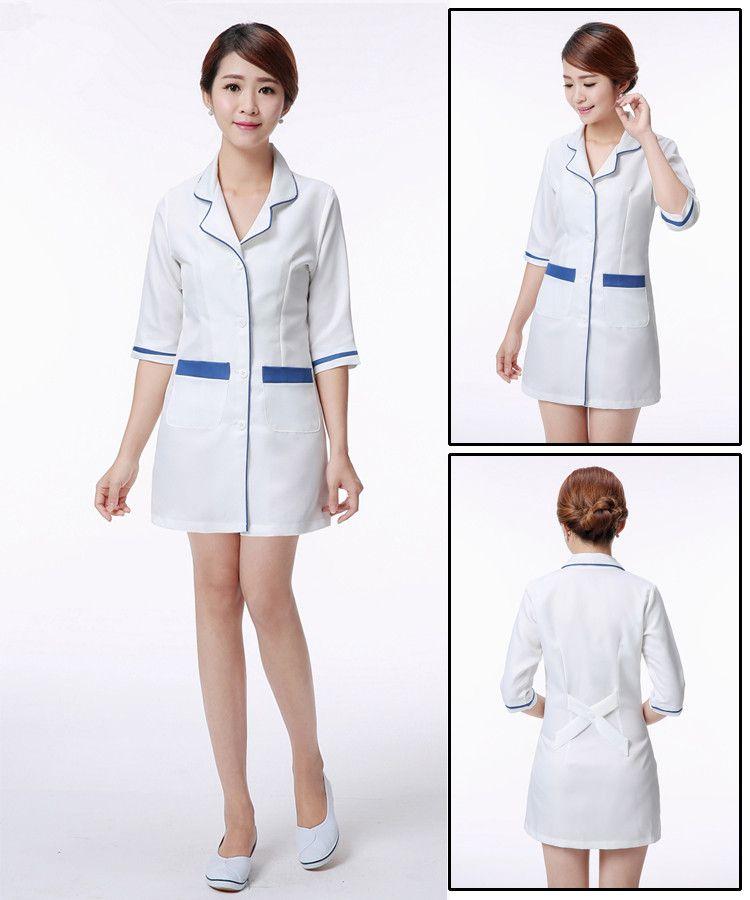 fef32cf2b44 new medical uniforms Hospital Lab Coat Korea Style Women Hospital Medical  Scrub Clothes Uniform Breathable women