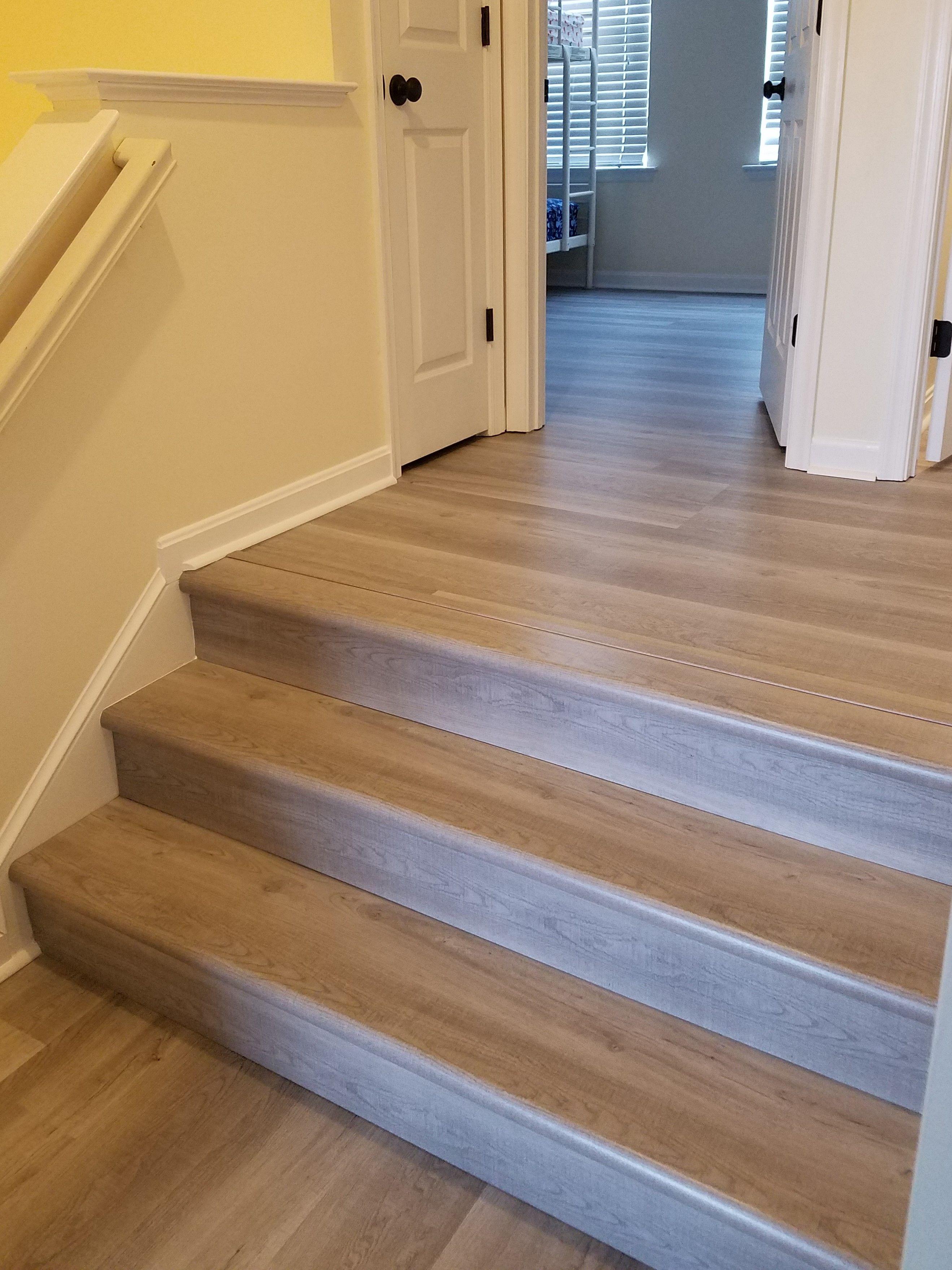 1500 lbs of Coastal Oak Vinyl Plank flooring. Installed by