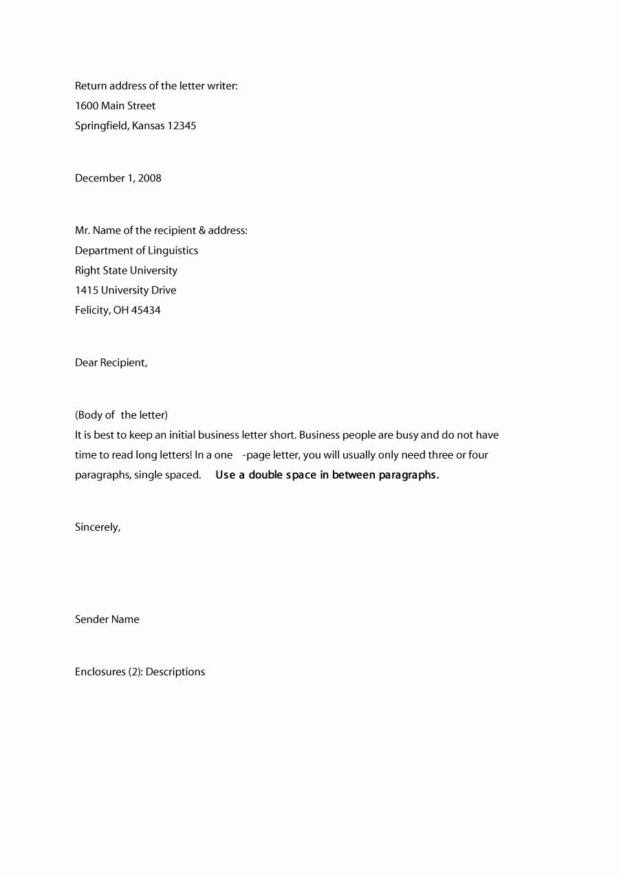 Business Letter Format Template Beautiful 35 Formal Business Letter Format Templ Business Letter Example Formal Business Letter Format Business Letter Template [ 1274 x 900 Pixel ]