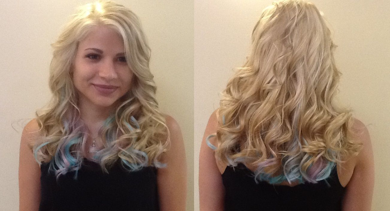 Pastel Extensions by Hair styles, Long hair styles