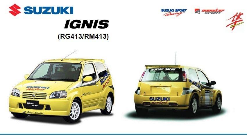 Suzuki Ignis Rg413 Rm413 Factory Service Manual Suzuki Manual