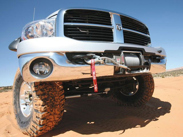 Dodge Power Wagon Winch Mount
