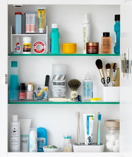 Full Medicine Cabinet | Simple Strategies For Finding A Place For All Of  Your Bathroom Essentials