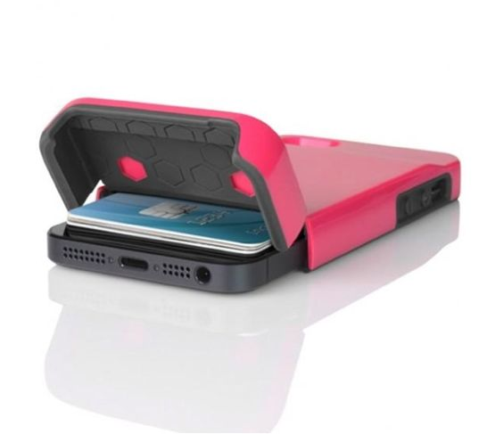 Staying organized is easy with a stealth exterior compartment that can act as your second wallet. $22.99  www.myphonecase.com