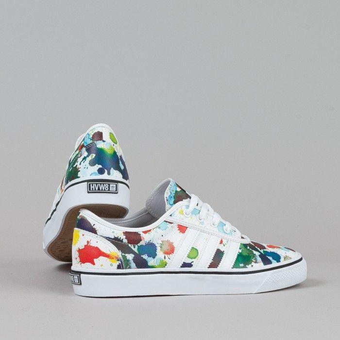 size 40 25291 ceb4d Adidas X HVW8 Adi-Ease Shoes - White  White  Core Black  Flatspot