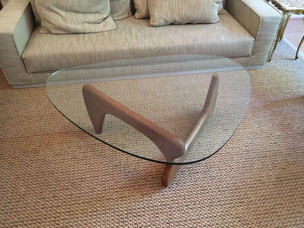 Noguchi coffee table in walnut timeless modern design classic living room coffee table camden london gumtree