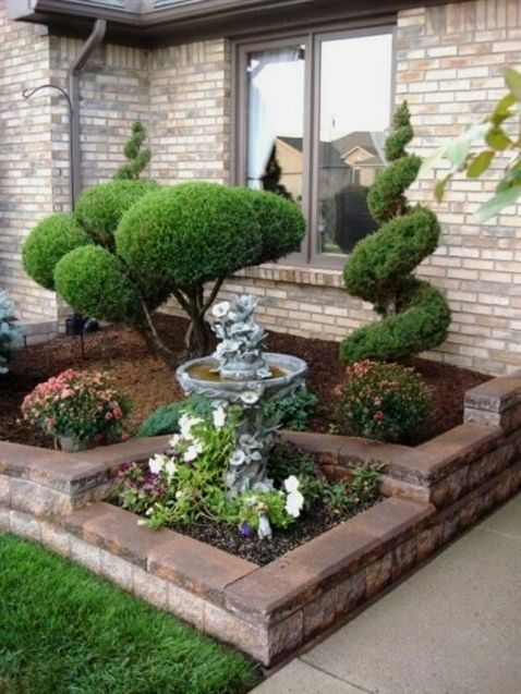 Simple Front Yard Landscaping Design Ideas On A Budget 05