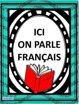 Free Classroom Posters for your room. | French / Français ...