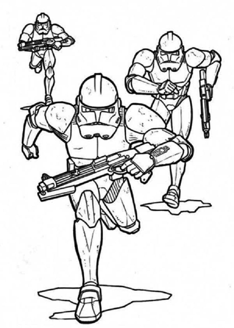 star wars coloring pages of clone troopers Check more at http ...