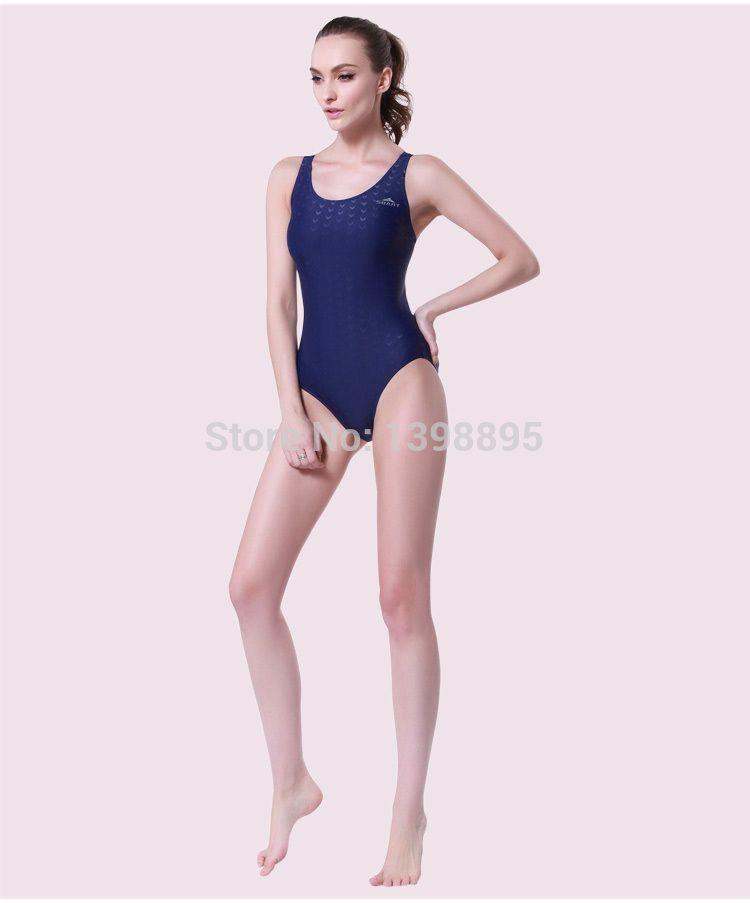 Sbart Sharkskin Swimsuit Athletic Swimwear One Piece Swimsuits Plus