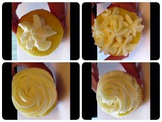 Four Quick and  Easy Buttercream Piping Techniques for Cupcakes