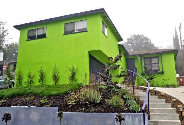 The Ultimate Lime Lover Green House Paint House Paint Exterior