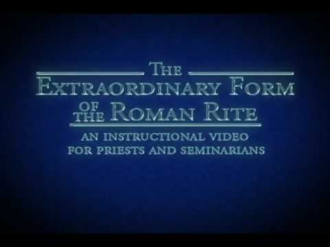 Trailer How To Say The Traditional Latin Mass Hi Res Version