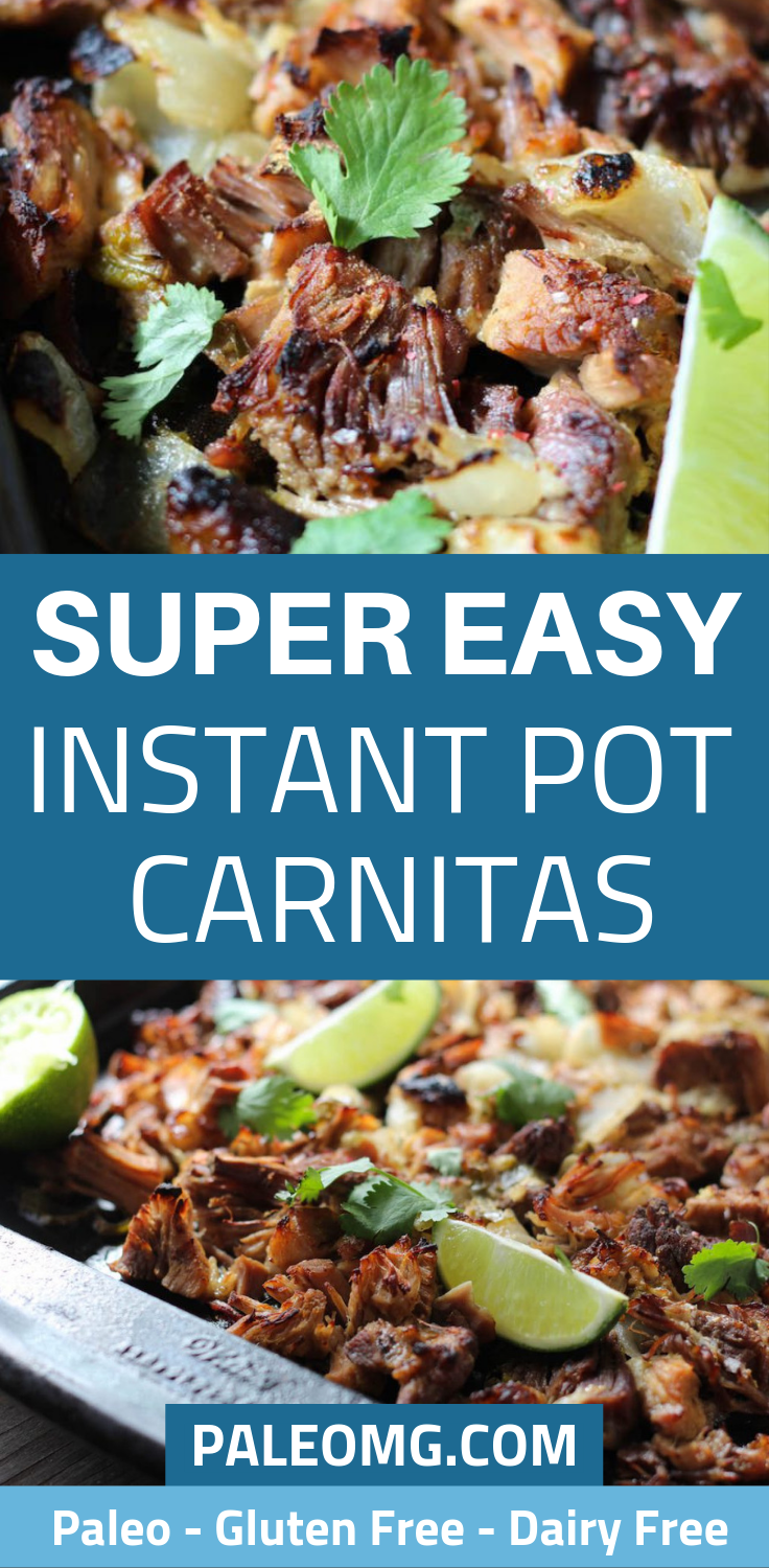 SUPER EASY Paleo Instant Pot Carnita Recipe!