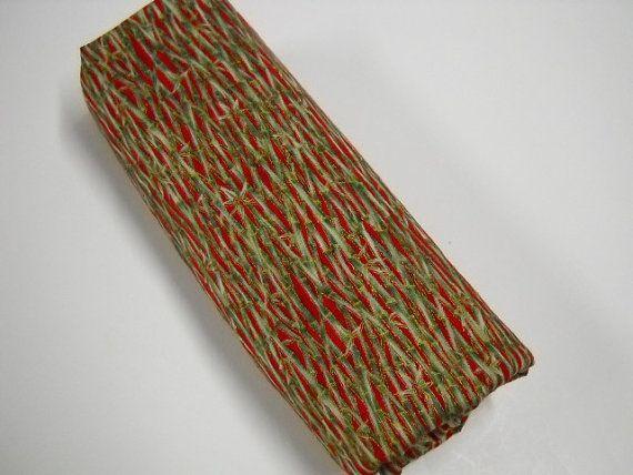 Holiday Fabric 2 Yards Christmas Fabric Two Yard by StitchKnit, $10.00