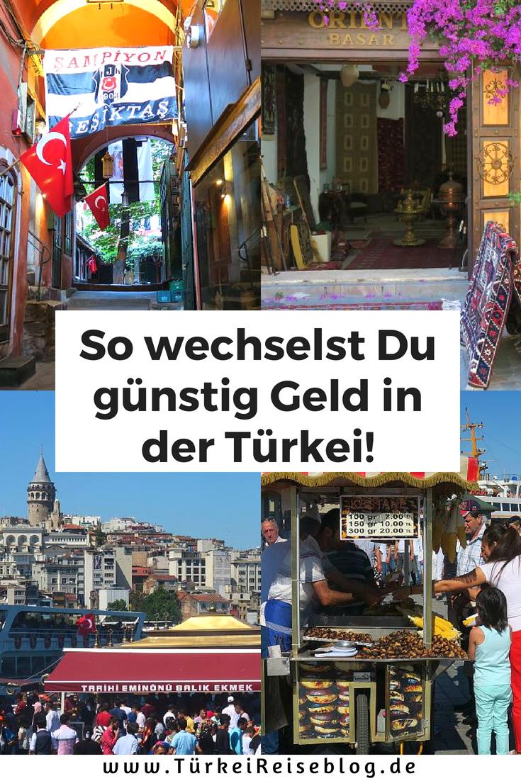Euro in Türkische Lira wechseln Geld wechseln, Türkei