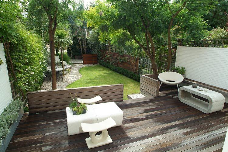 Casas modernas jardin buscar con google paisajismo for Ideas paisajismo jardines
