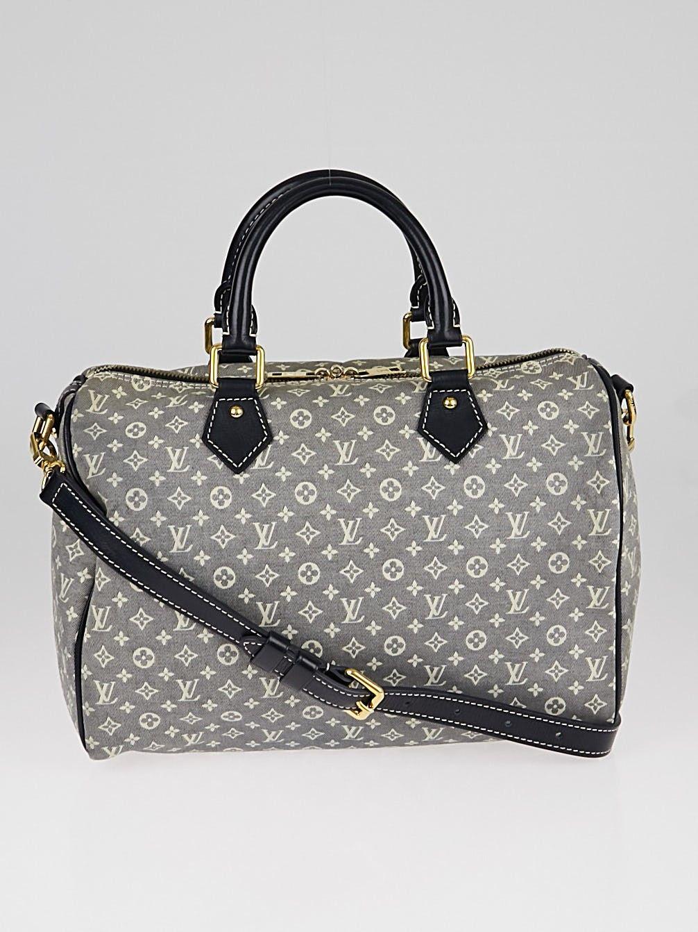 51060a5d39cf Louis Vuitton Encre Monogram Idylle Canvas Speedy Bandouliere 30 Bag ...