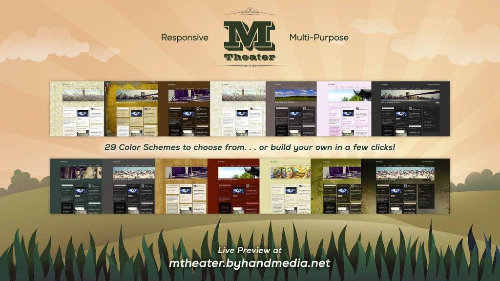 The M Theater WordPress Theme