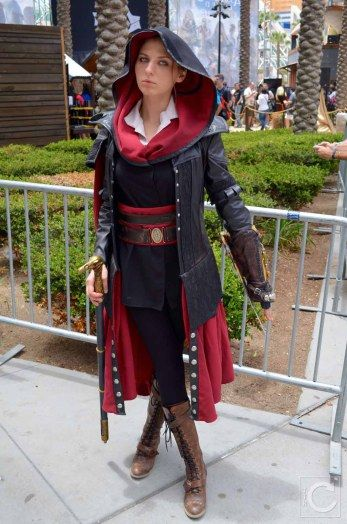 Comic Con 2015 Evie Frye Actress Assassins Creed Syndicate Jpg