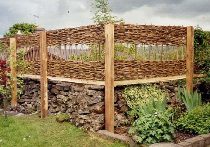 Wooden trellis fence designs make wood headboard queen for Wooden garden trellis designs