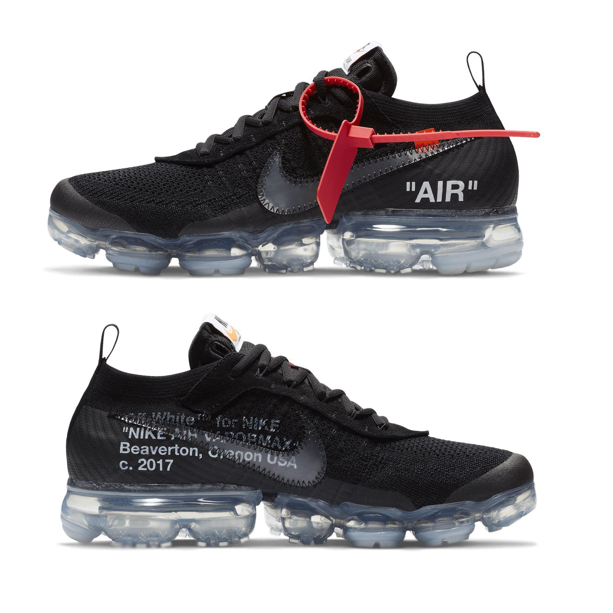 Off White X Nike Air Vapormax Black Grailify Sneaker Releases Shoes Sneakers Nike Sneakers Nike Air